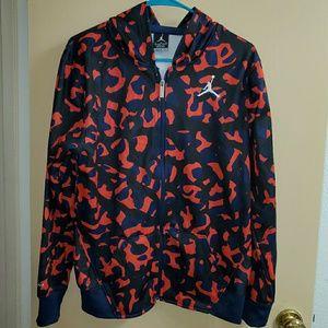 Boy's Jordan Pullover Hoodie Sweatshirt XL